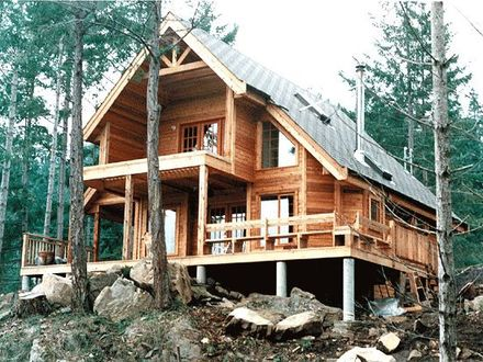 Small lakefront home plans small retirement home plans for Affordable cottage house plans