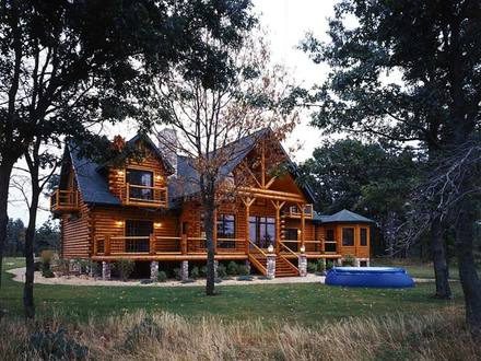 Contemporary Log Homes Modern Log Cabin Homes