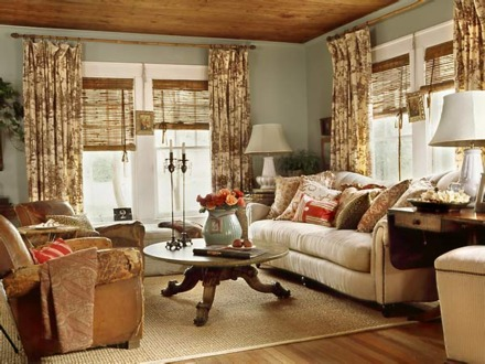 Cottage Living Room Ideas Shabby Chic Cottage Style Decorating