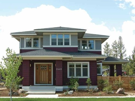 Craftsman Prairie Style Ranch House Craftsman Prairie Style House Plans