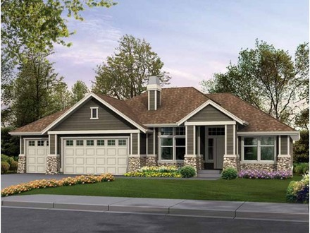 Craftsman Rambler House Plans Custom Rambler House Plans
