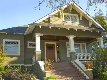 Craftsman style bungalow This Old House Pinterest Craftsman Bungalow Home Plan