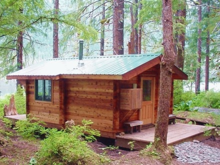 Small log cabin floor plans rustic log cabins small for Cedar cabin plans