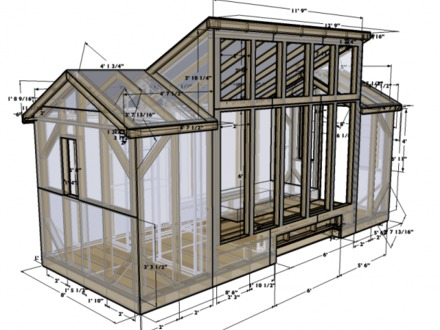 Free Tiny House Plans Tiny House On Wheels Plans
