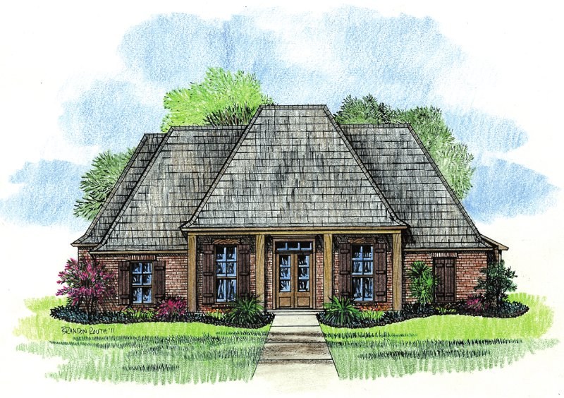 French country house plans country house plans with for French country ranch house plans