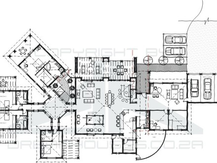 Modern house plans house plans and designs houses design for Guest house floor plans 500 sq ft