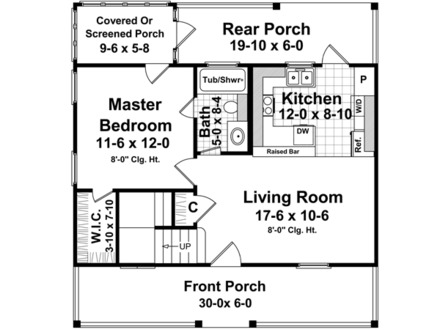 House Plans Under 1200 Square Feet 1200 Square Foot House Plans