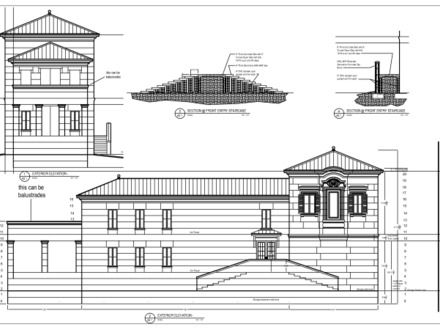 House Plans with Elevations Texas Ranch House Plans