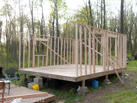 Hunting Cabin Interior Building a Hunting Cabin in the Northwoods Ruffed Grouse Minnesota