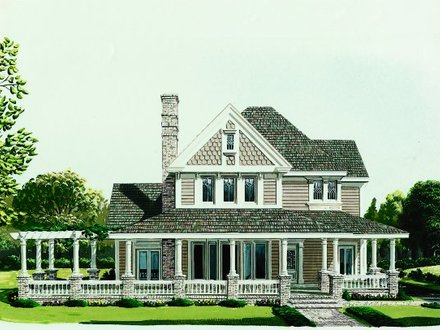 Inexpensive Two-Story House Plans Two Story House Plans with Wrap around Porch