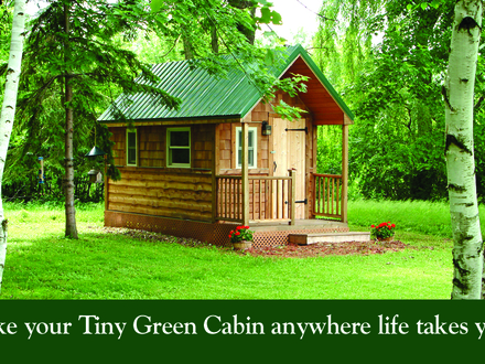 Little Cabins Tiny Green Cabins Floor Plans