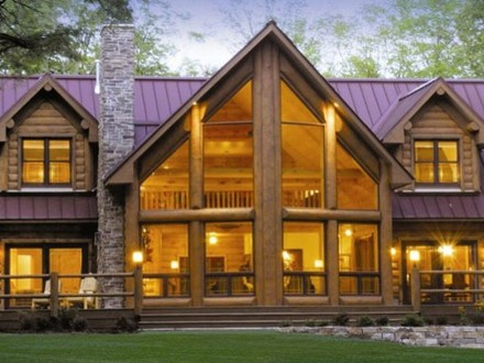 Ranch floor plans log homes log home floor plans floor for Log cabin ranch home plans