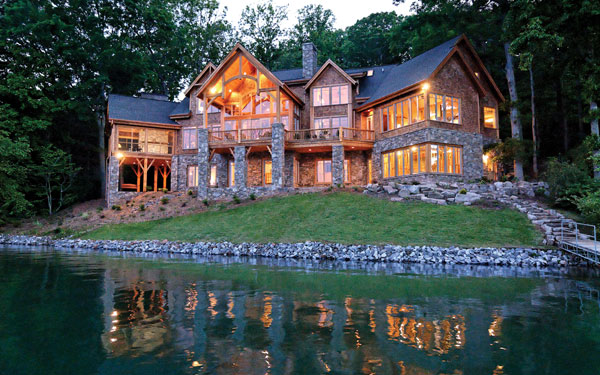 Luxury Lake House Plans Custom Lake House Plans