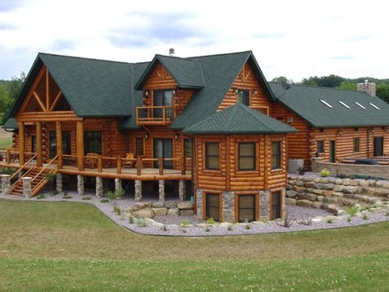 Luxury Log Home Designs Large Luxury Log Home Plans