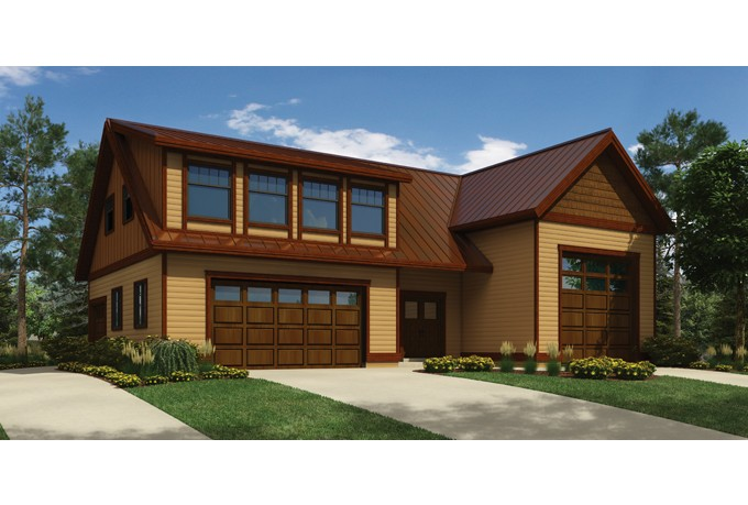 Modern Detached Garage Modern Garage With Apartment Plans