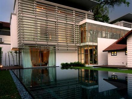 Modern Home Design Small Houses Glass Modern House Design