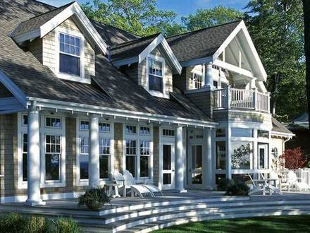 New England Style House Plans New England Shingle Style Cottage