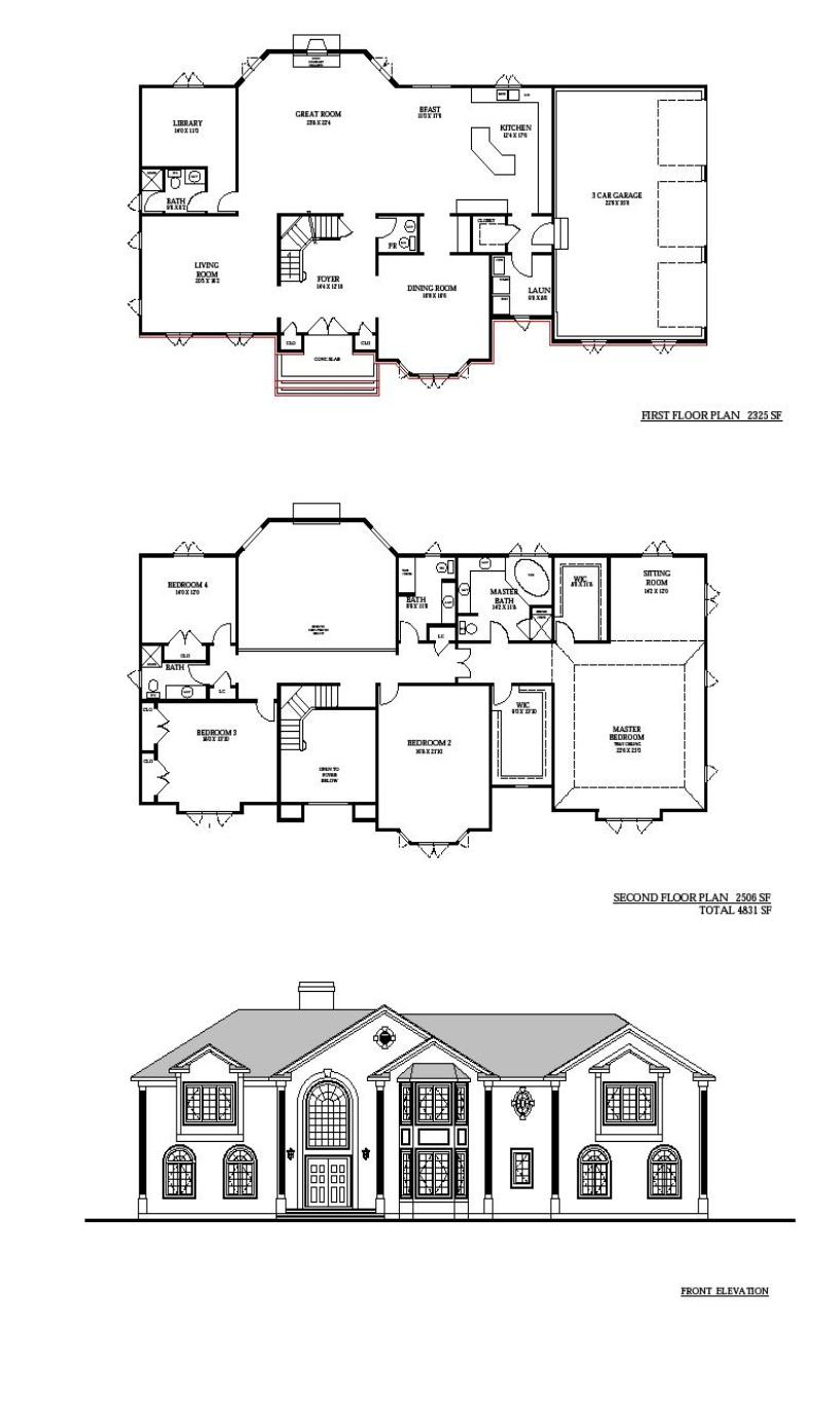 New home floor plans custom home floor plans floor plans for Custom home layouts