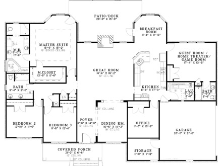 One Story Bungalow House Plans Small Bungalow House Plans