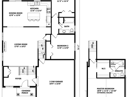 Canadian House Plans 3 Bedroom House Floor Plans Raised: old ranch house plans