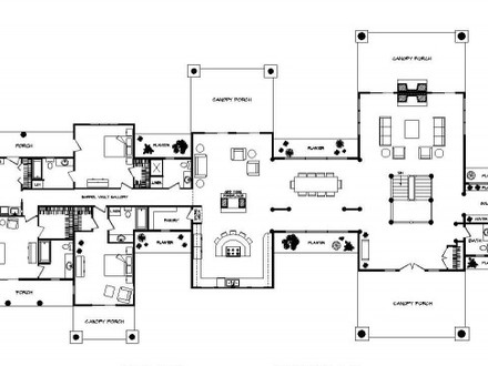 Ranch Home Floor Plans Contemporary Ranch Floor Plans