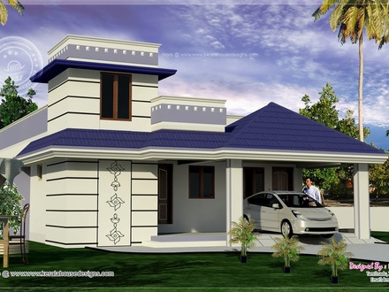 Ranch Style House Exterior Designs Single Floor House Designs