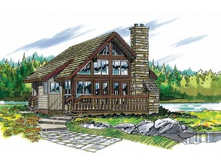 Rustic Cabin House Plans Mountain Cabin House Plans