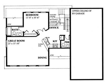 Rv garage with apartment plans apartment over garage with for Rv garage floor plans