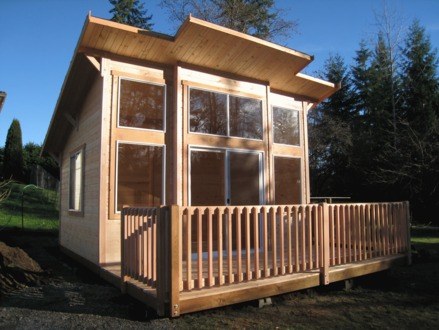 Shed Roof Cabin with Loft Small Shed Roof Cabin Plans