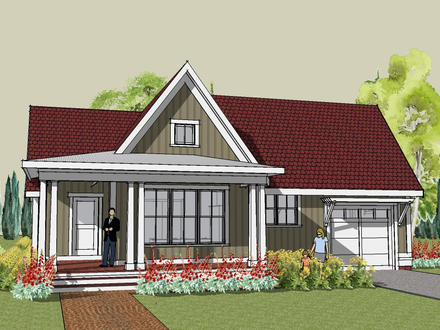 Simple Cottage House Plans 2 Bedroom House Plans