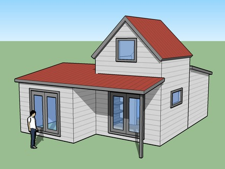 Simple House Design Housing Simple House Design