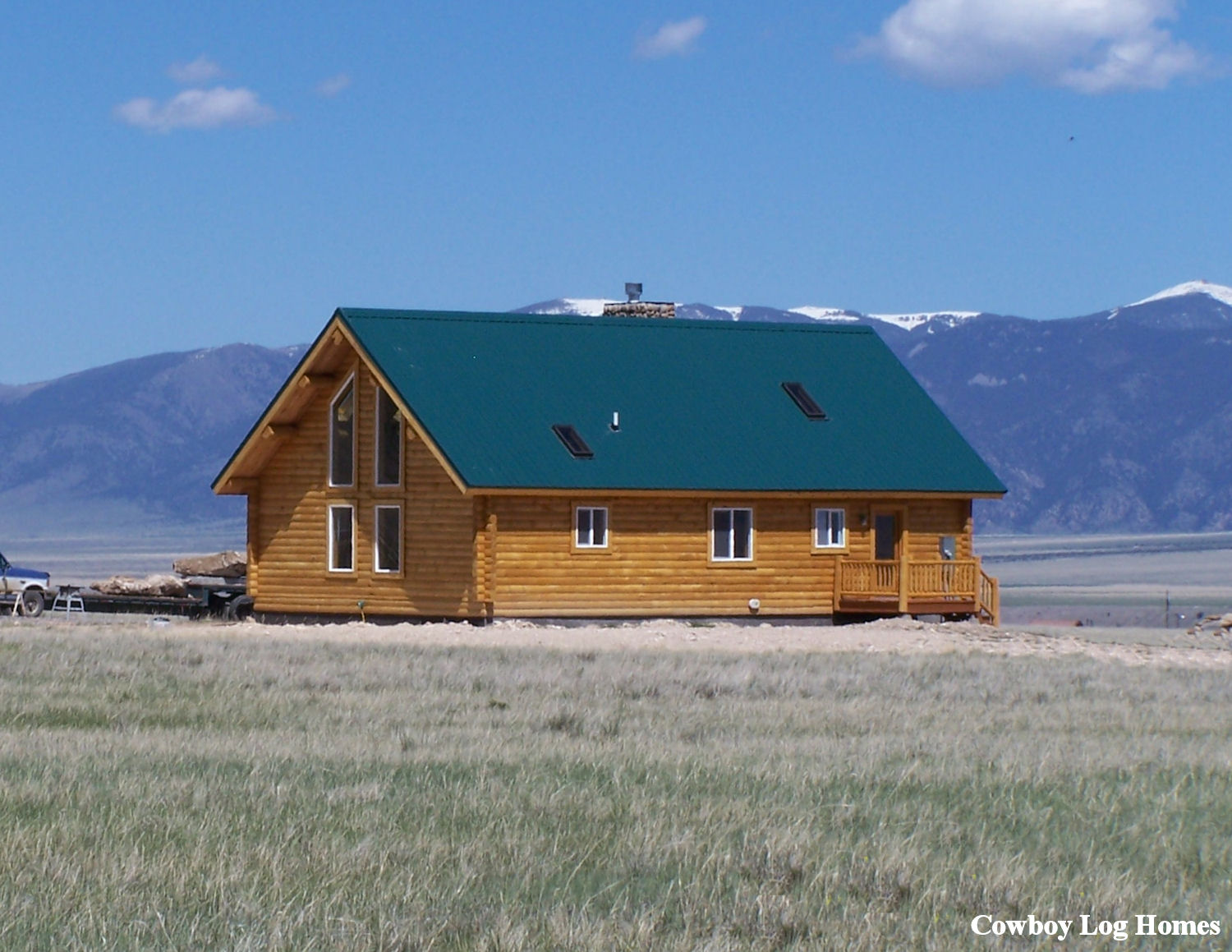 Simple log cabin homes easy to build log homes simple log for Easy to build cabins