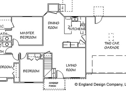 Simple Small House Simple Country House Floor Plans