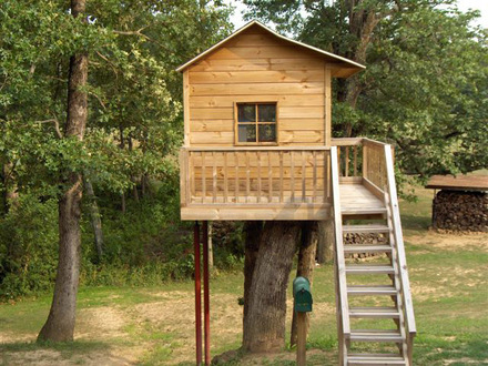 Simple Tree House Design Plans Easy to Build Tree House