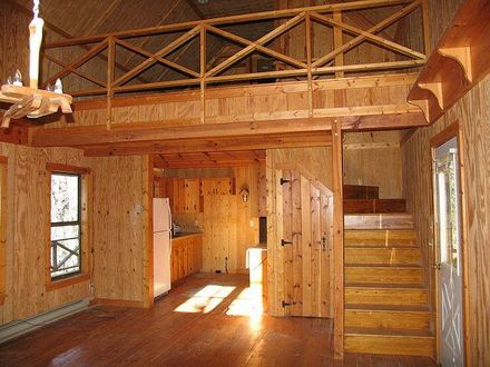 Small Cabin with Loft Simple Cabin Plans with Loft