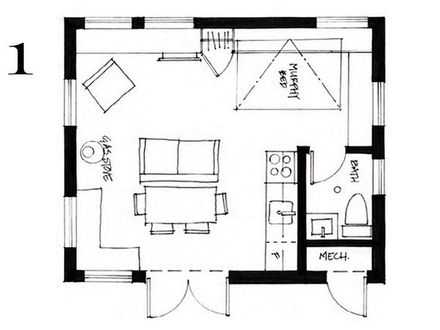 Small Cottage House Floor Plans Small Cottage House Plans with Porches