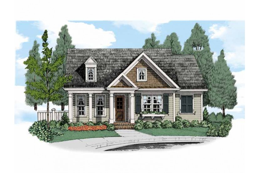 Small country cottage charming small cottage house plans for Charming cottage house plans