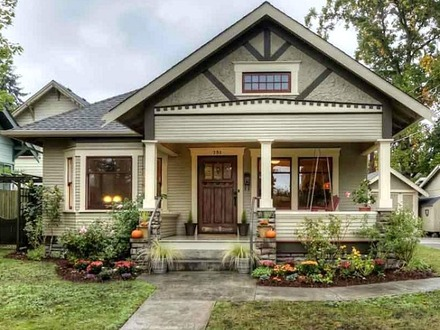 Small Craftsman House Exterior Small Craftsman Bungalow House