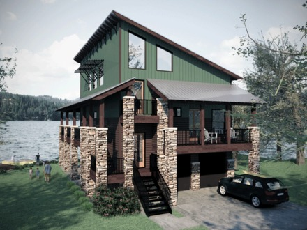Small Lake House Plans Small House Plans with Porches