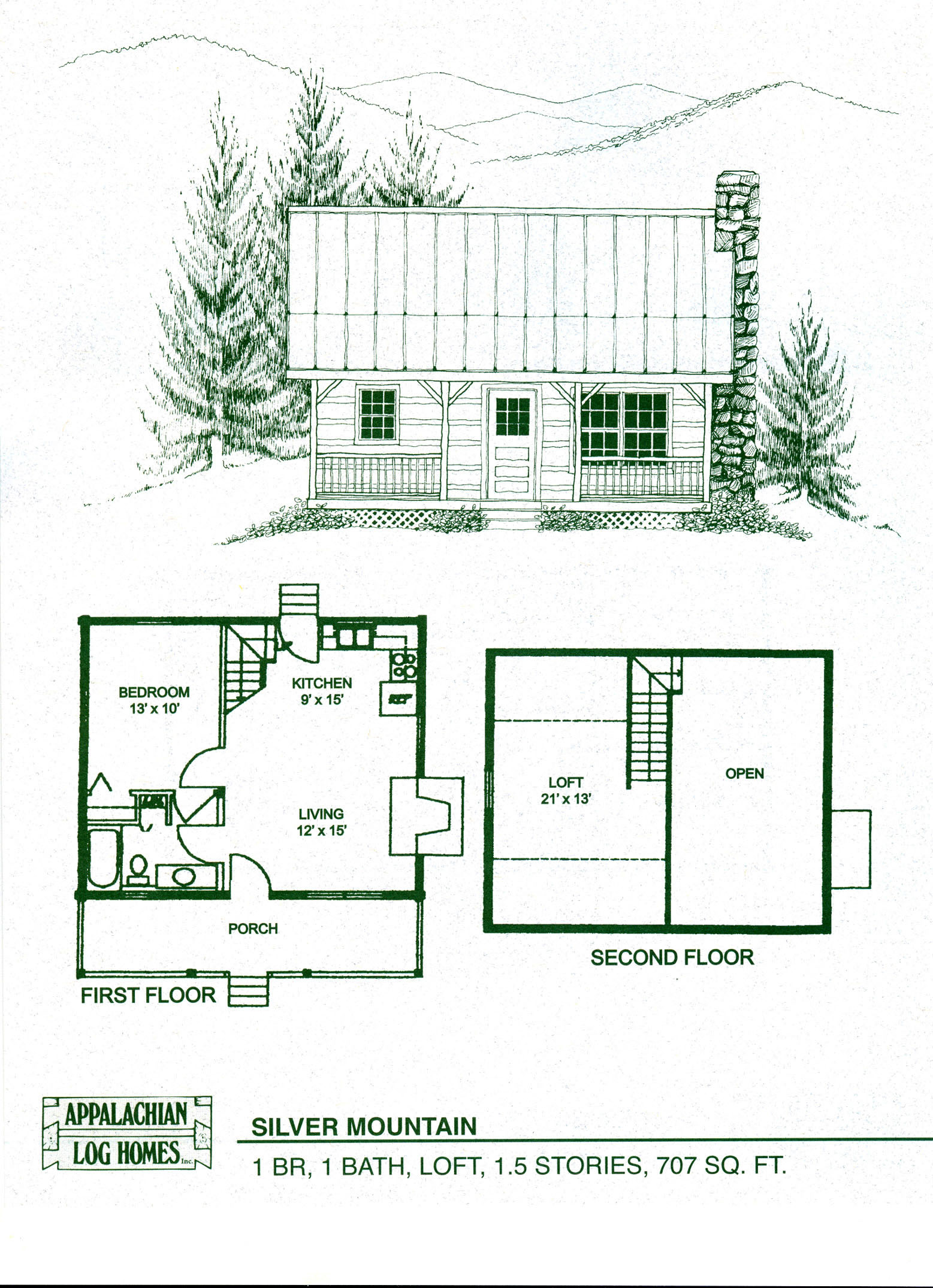 Small Log Cabin Homes Plans Small Cabin Floor Plans with Loft