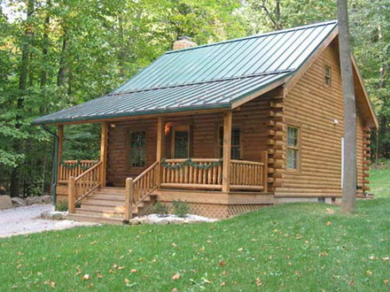 Small Log Cabin Plans Small Hewed Log Cabin Plans