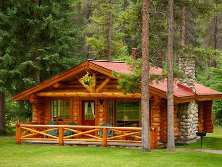 Small Log Cabins One Room Log Cabin Homes