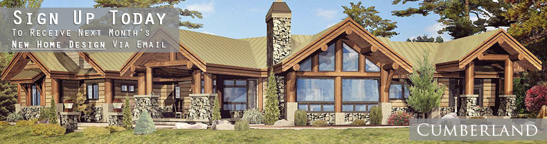 Small log home plans browse log home plans timber frame for Timber frame ranch home plans