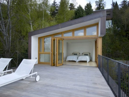 Small Rustic Modern House Modern Rustic Home Exteriors