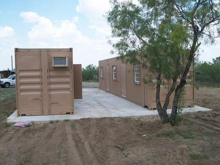 Storage Container Command Bunker Storage Container Hunting Camp