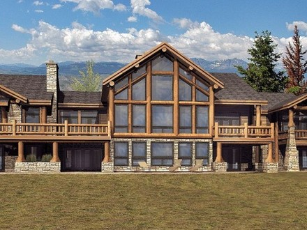 Tomahawk Log Homes Wisconsin Log Homes Floor Plans