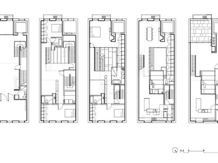 Townhouse Floor Plans and Designs 3-Story Townhouse Floor Plans