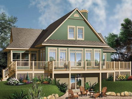 Waterfront House Floor Plans Small Waterfront Home Plan Designs