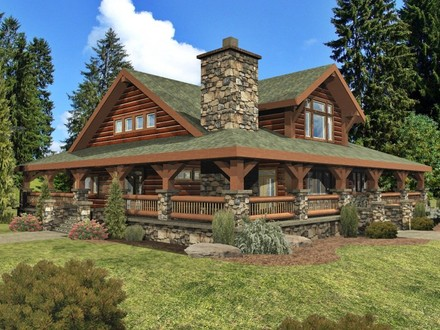 Wisconsin Log Homes Custom Log Homes