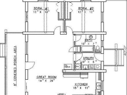 1400 Square Foot House Plans 3 Bedrooms 1200 Sq Foot House Floor Plan